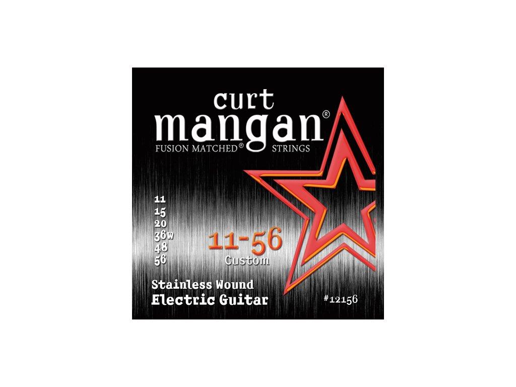 Curt Mangan Strings - 11-56 Drop Tuning Stainless Wound  struny pro elektrickou kytaru