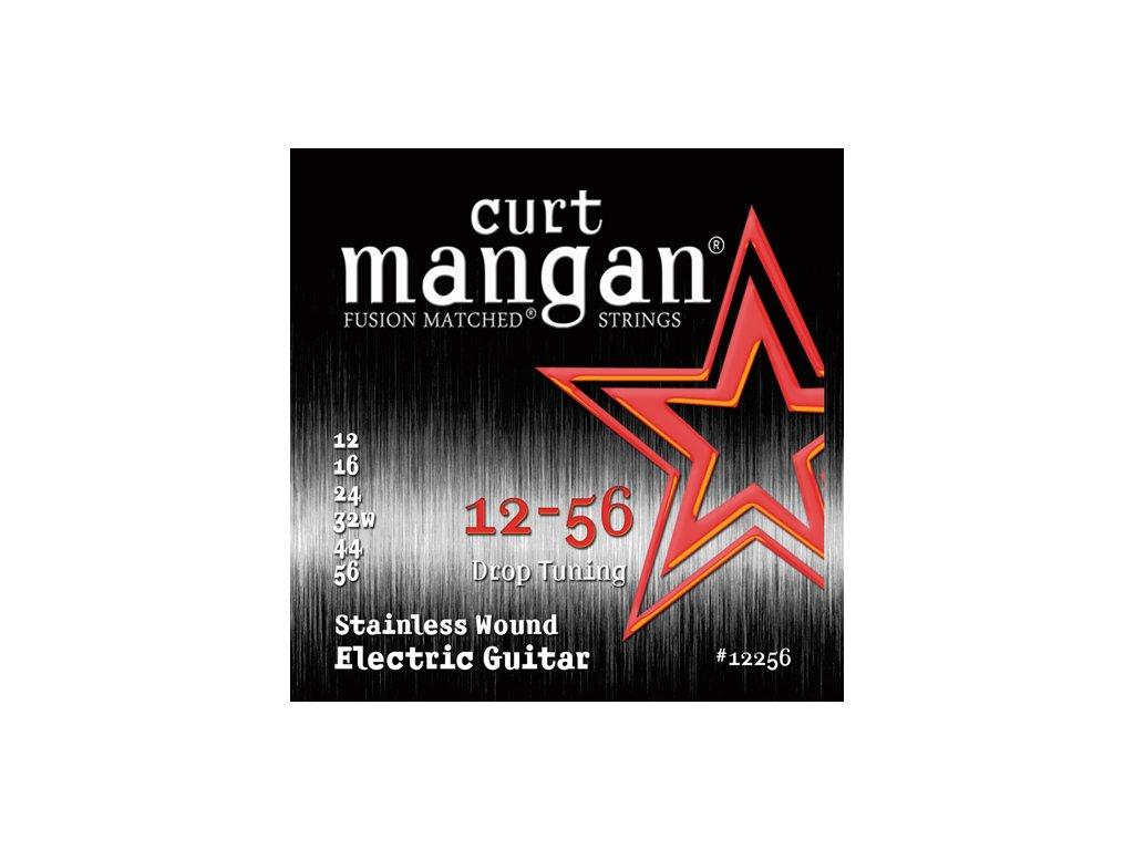 Curt Mangan Strings - 12-56 Drop Tuning Stainless Wound  struny pro elektrickou kytaru