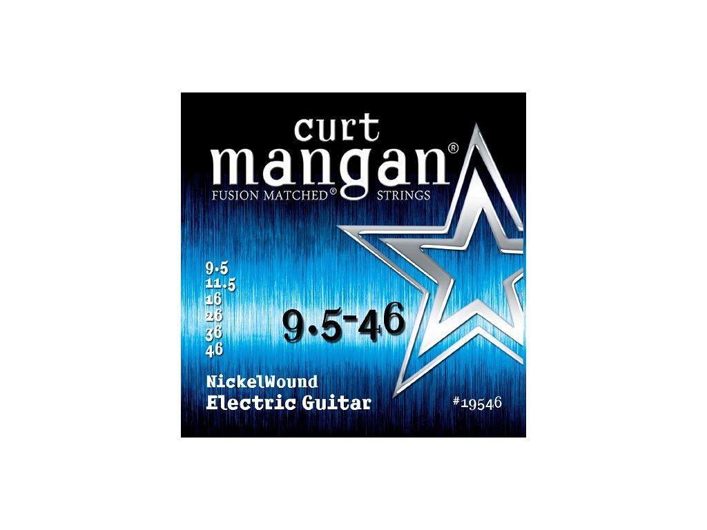 Curt Mangan Strings - 9.5-46 Nickel Wound  struny pro elektrickou kytaru