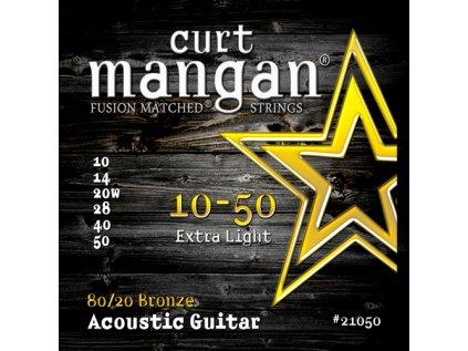 Curt Mangan Strings - 10-50 80/20 Bronze  struny pro akustickou kytaru