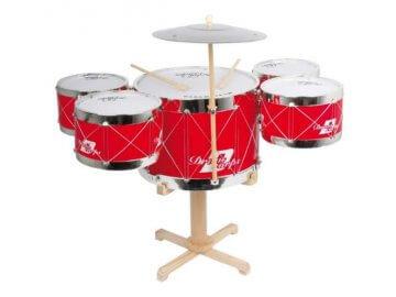 Hudební dárky s motivem bubnů a bicích