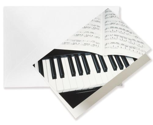 Hudební pohlednice a blahopřání