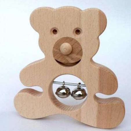 Dřevěné hračky a dětské hudební nástroje
