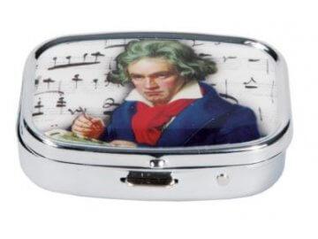 Hudební krabičky a lékovky