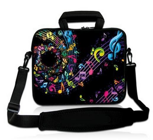 Hudební obaly na notebooky, mobily a hudební nástroje