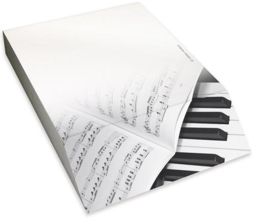Hudební bloky, sešity a desky