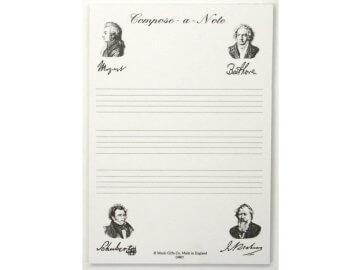 Dárky s motivem hudebních skladatelů