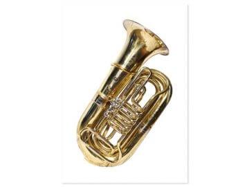Hudební dárky s motivem tuby nebo trombonu