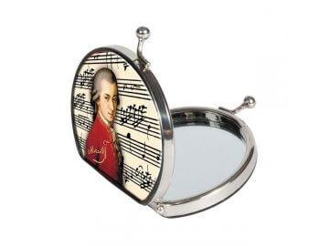 Hudební kapesní kosmetická zrcátka