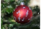 Vánoční hudební dekorace