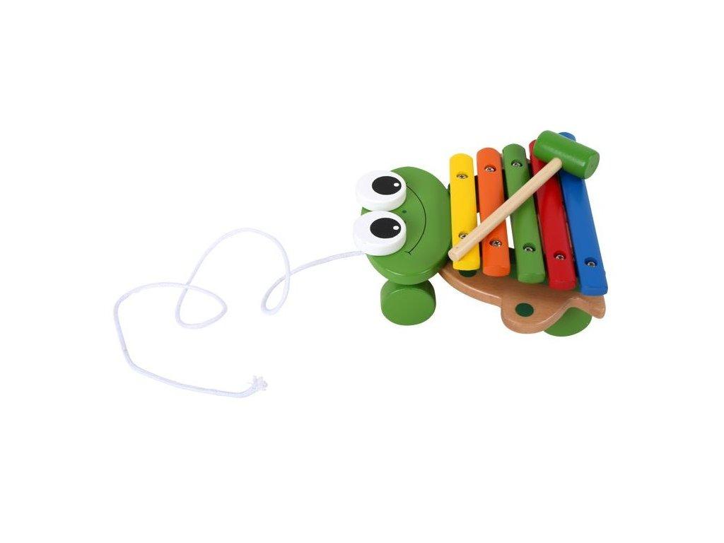 Tahací xylofon - žabka