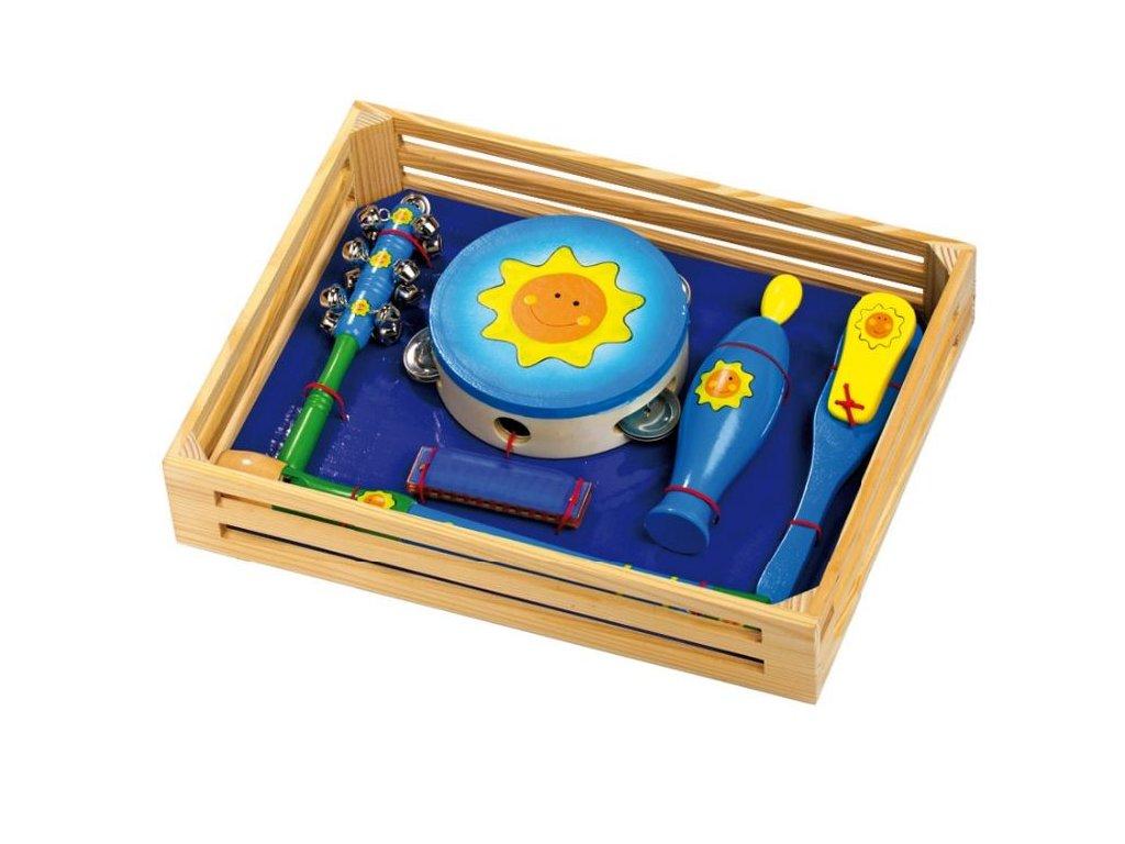 Sada hudebních nástrojů - Slunce v dárkovém boxu