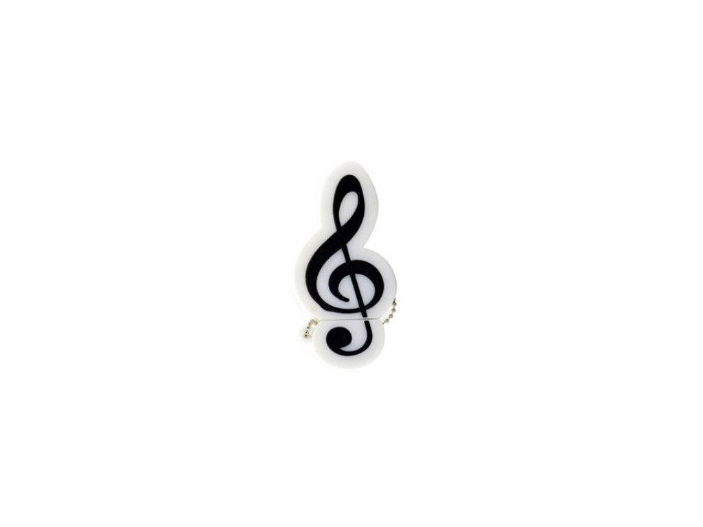 usb houslový klíč bílý 8 gb