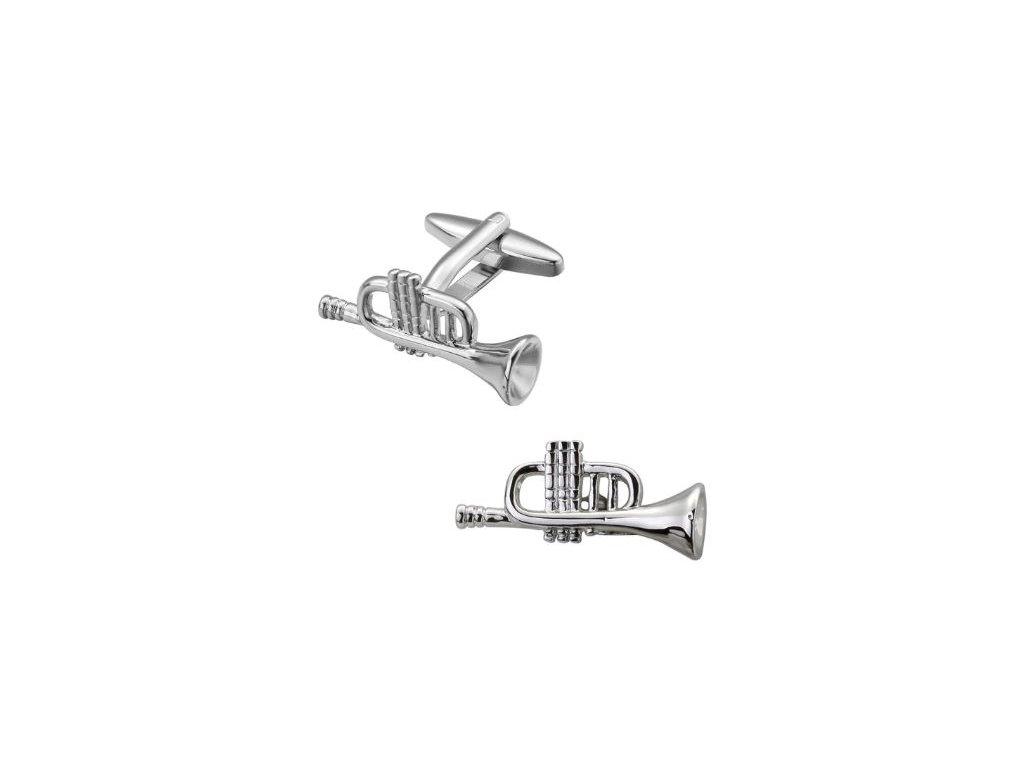 manžetové knoflíčky trumpety