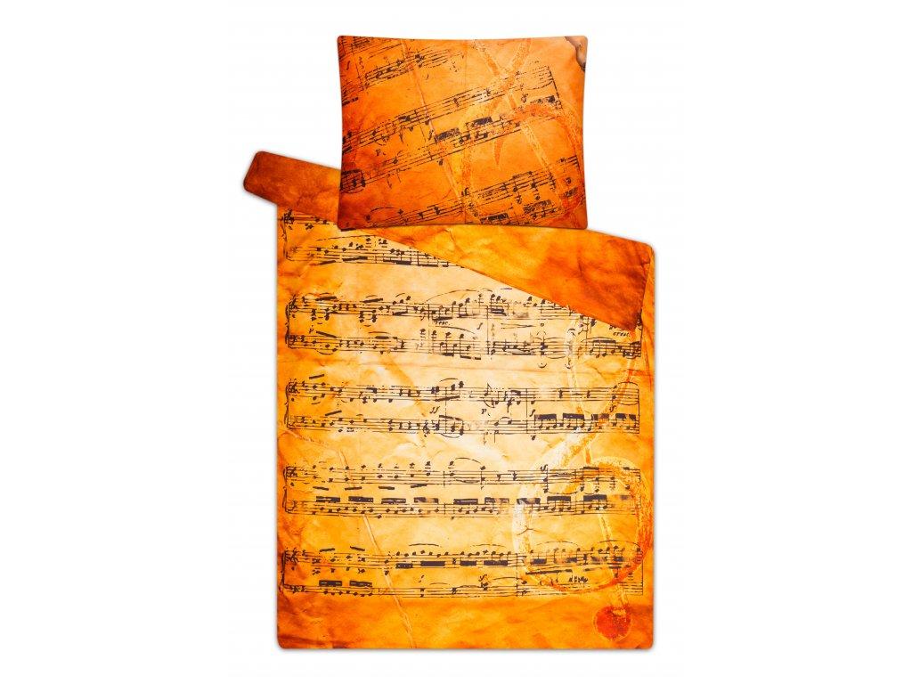Damaškové povlečení partitura