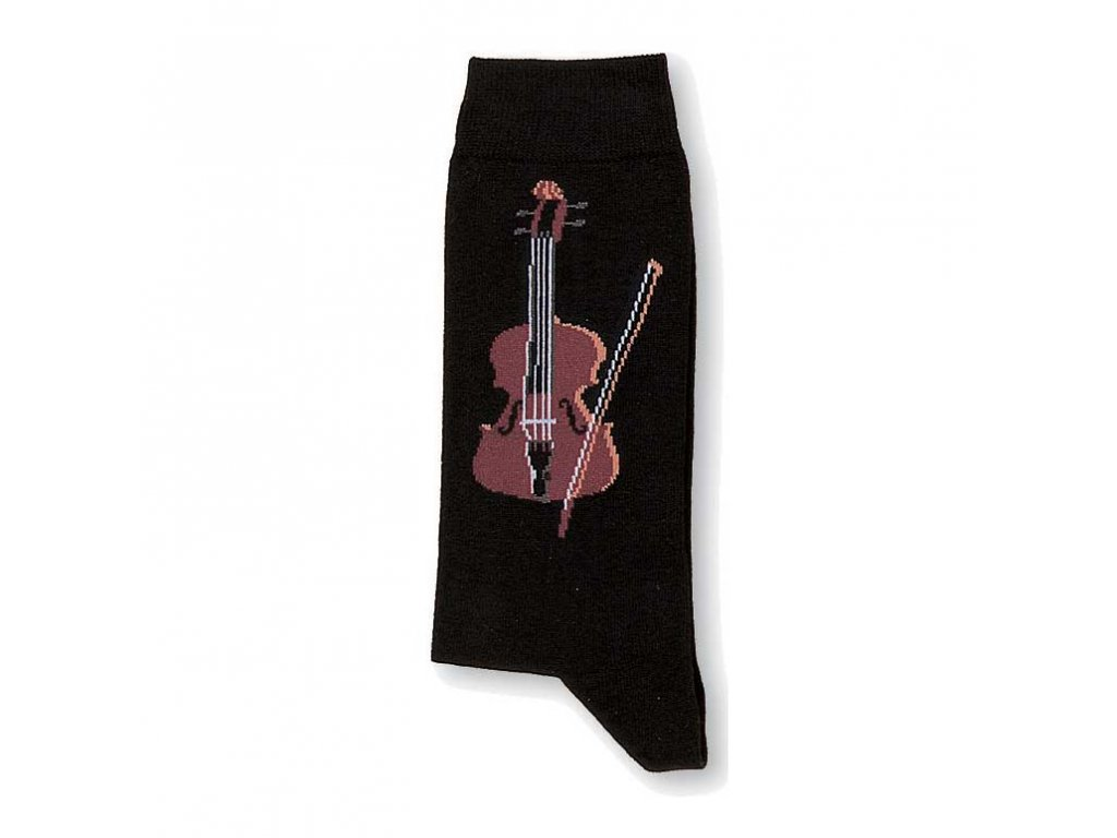 ponožky housle