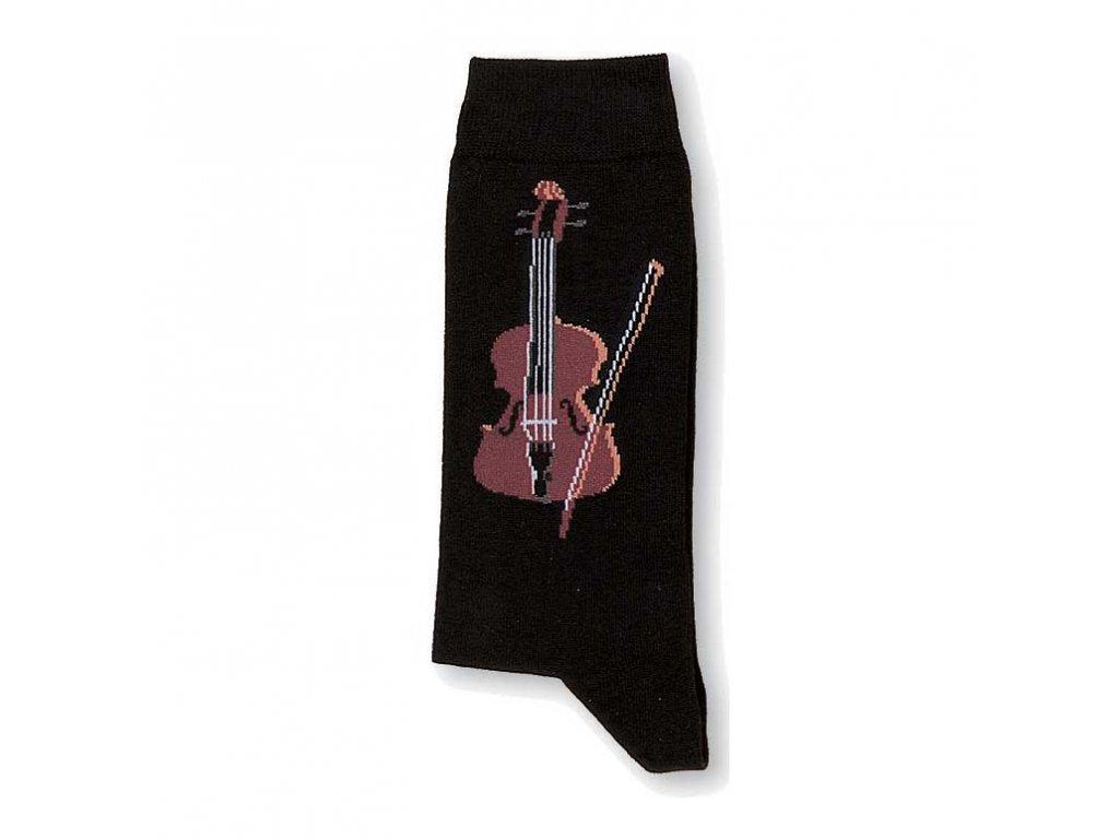 ponožky housle7
