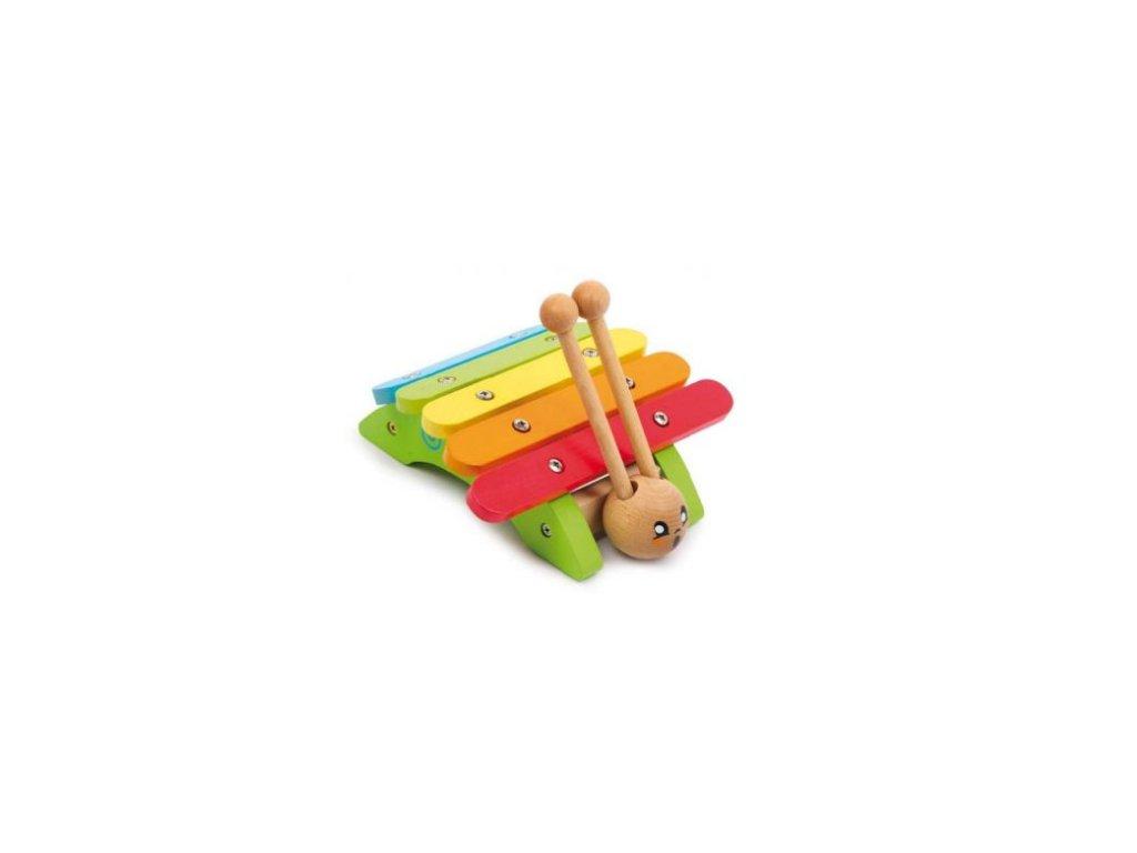 Barevný xylofon šnek