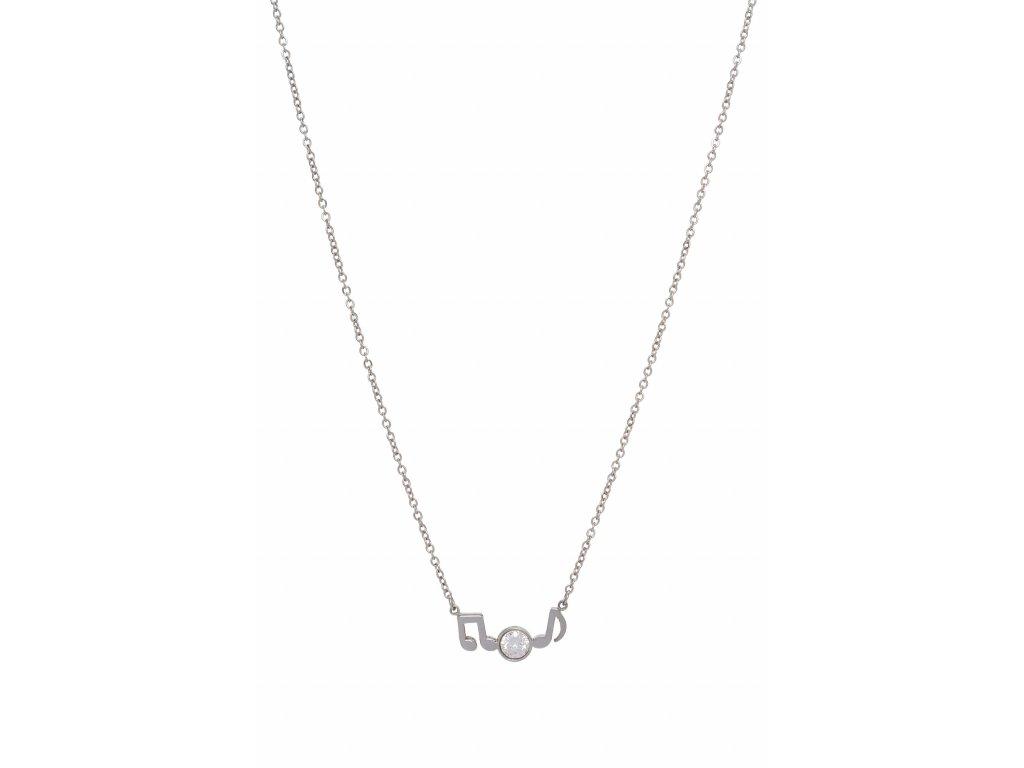 Bižuterní sada náhrdelník OSMINOVÉ NOTY