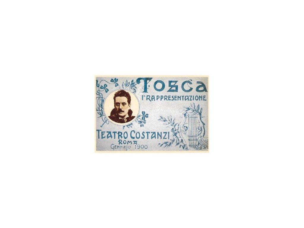 pohlednice Tosca III