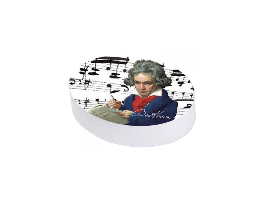 Guma portrét Beethoven