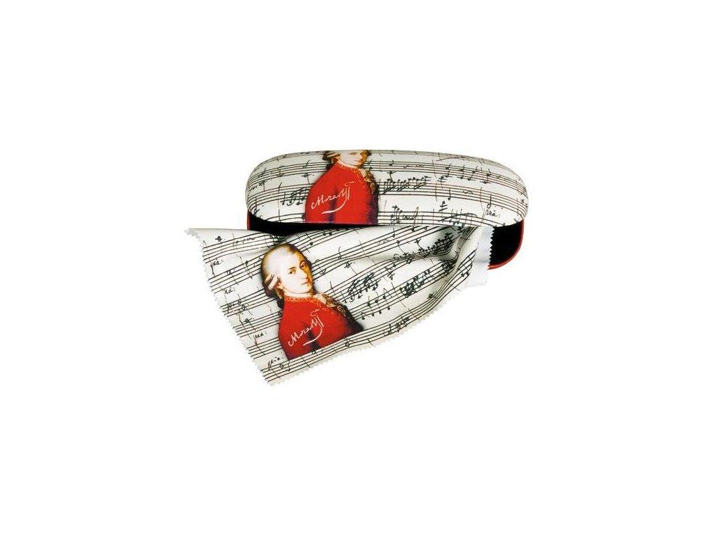 pouzdro na brýle mozart s hadříkem