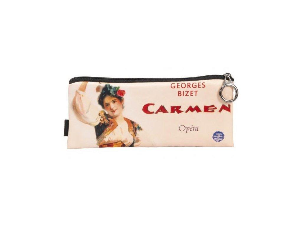 pouzdro textilní, opera Carmen