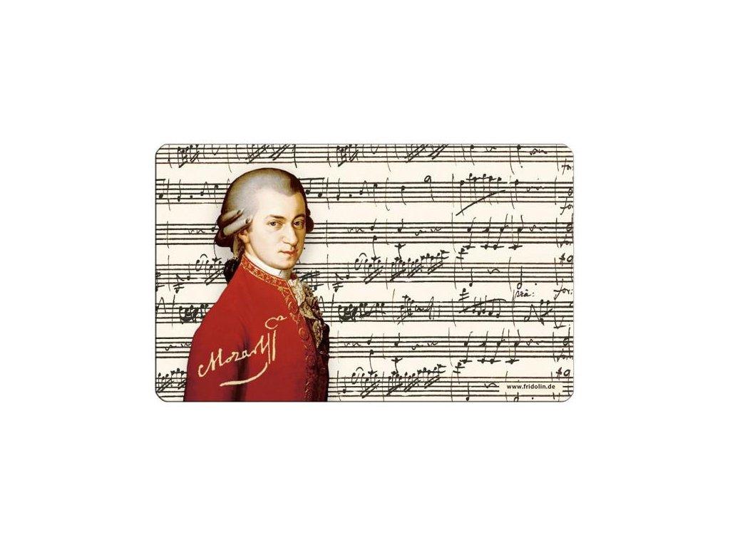 snídaňové prkénko Mozart, hudební skladatel