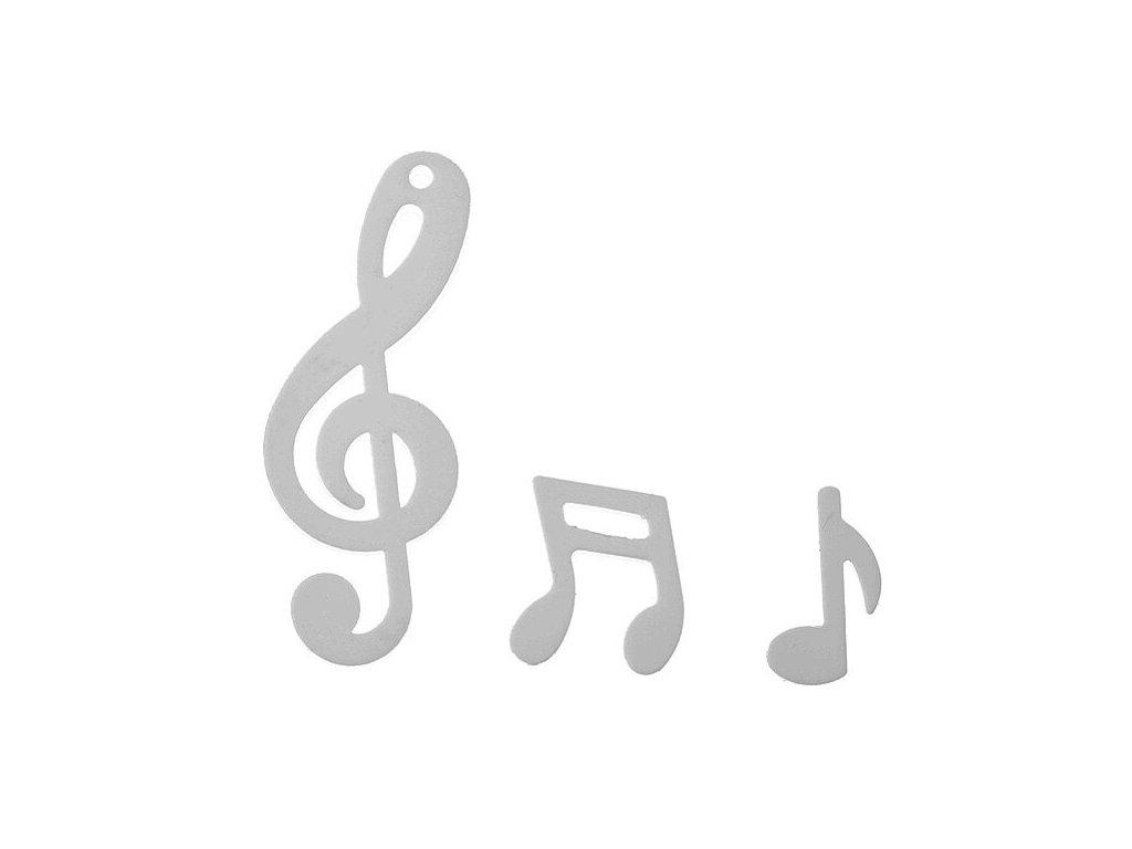 konfety hudební motivy