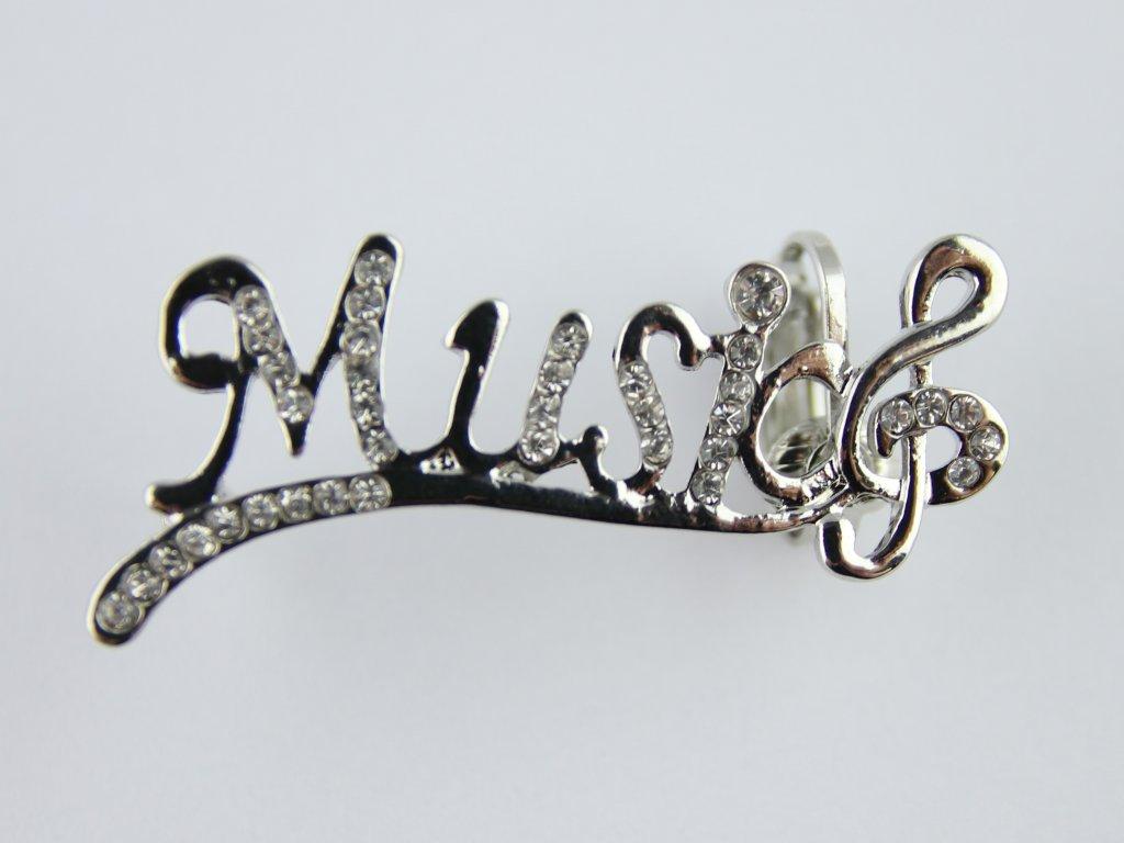 Náušnice MUSIC