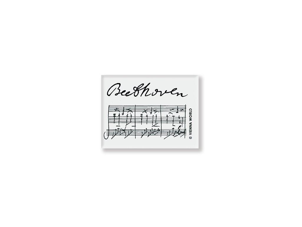guma s parititurou Beethoven