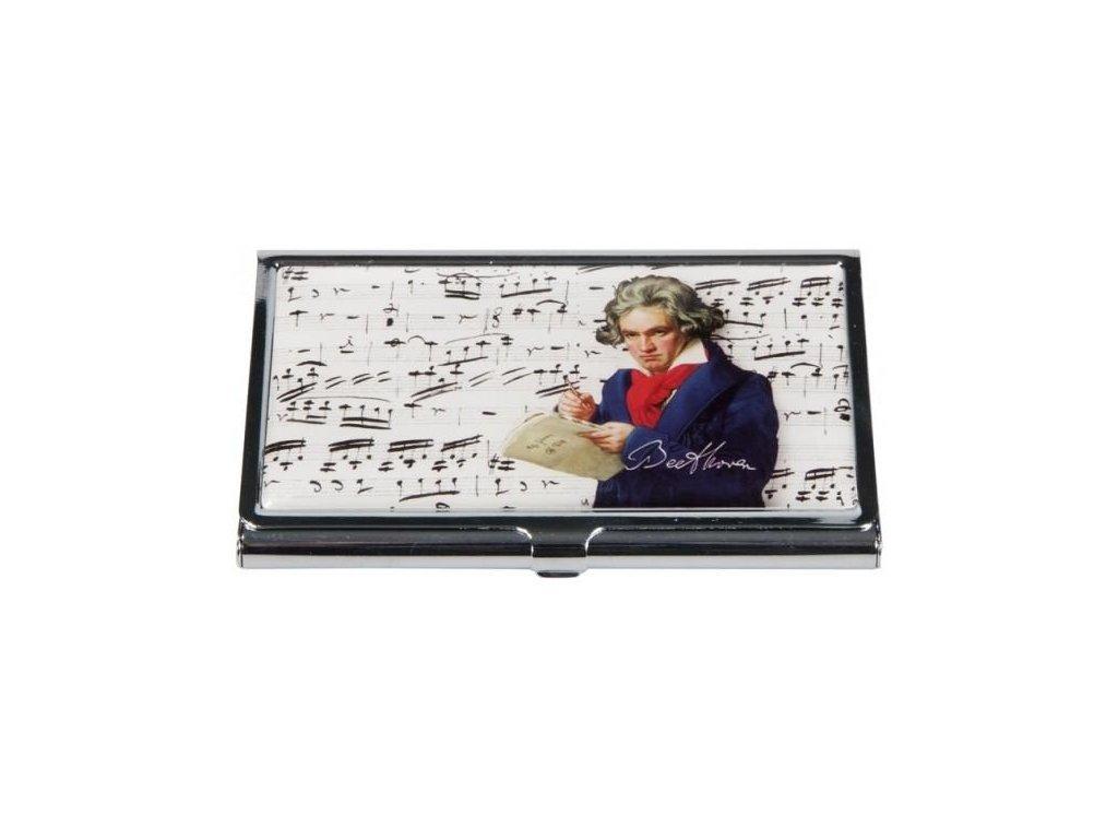 pouzdro na vizitky Beethoven