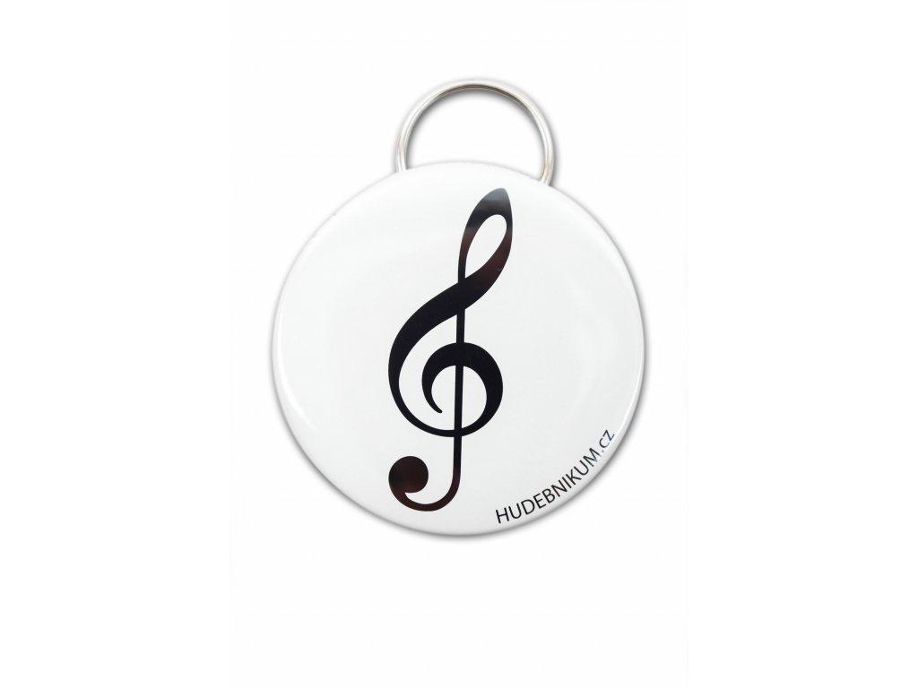Kapesní otvírák houslový klíč