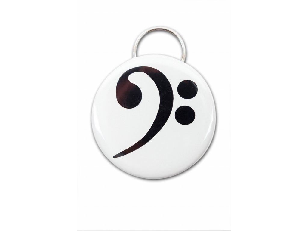 Kapesní otvírák basový klíč