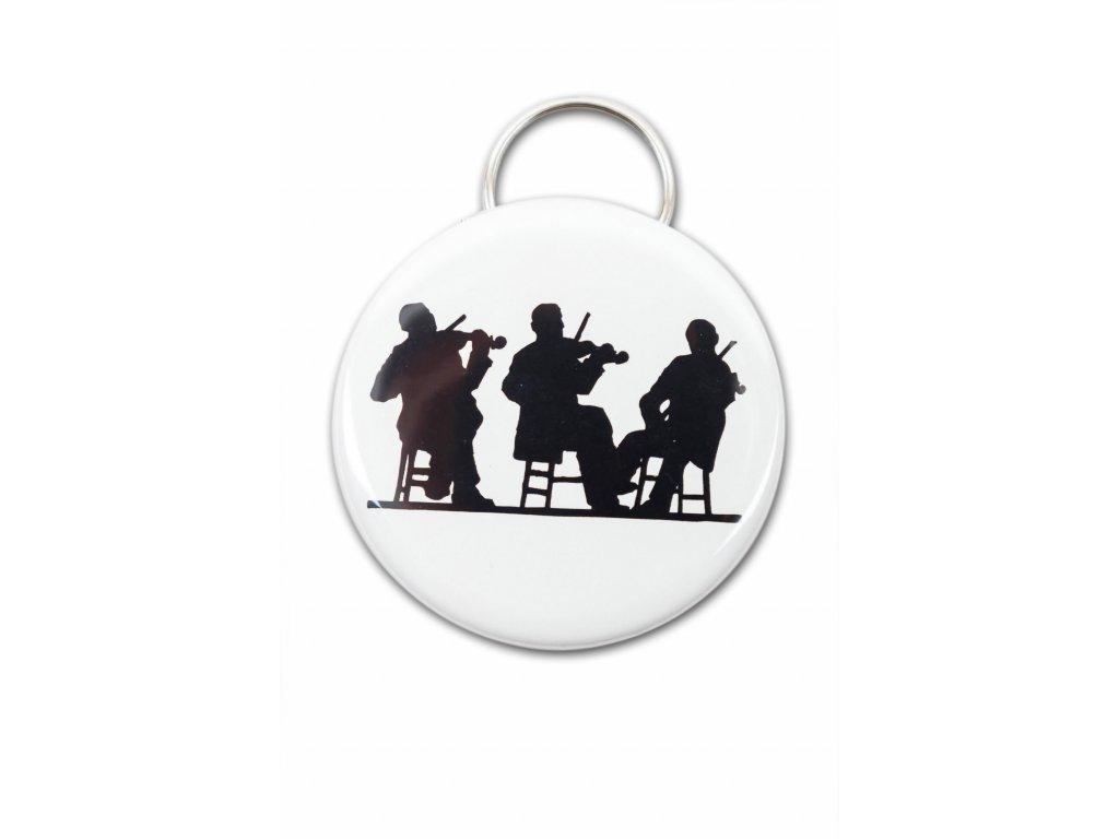 Kapesní otvírák hudební orchestr