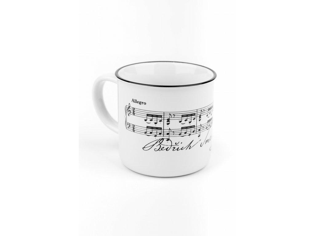 Keramický hrnek Bettina polka B. Smetana (2)