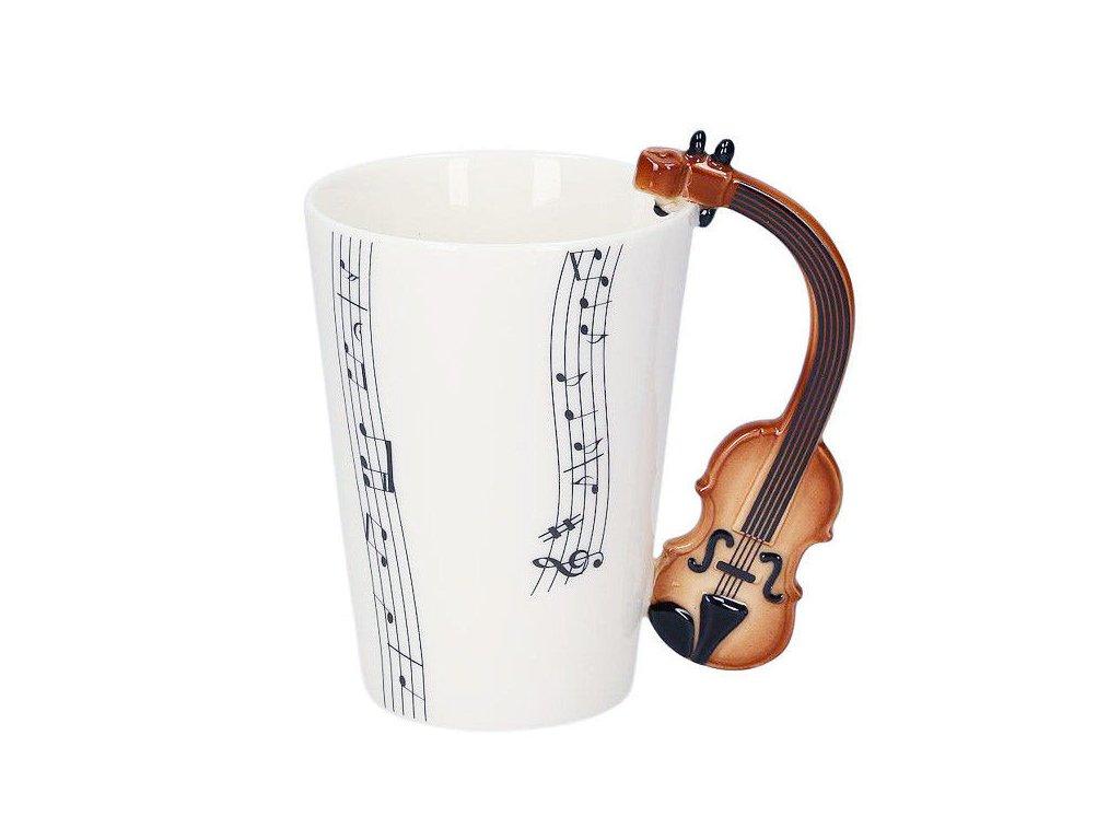 hrneček housle a partitura