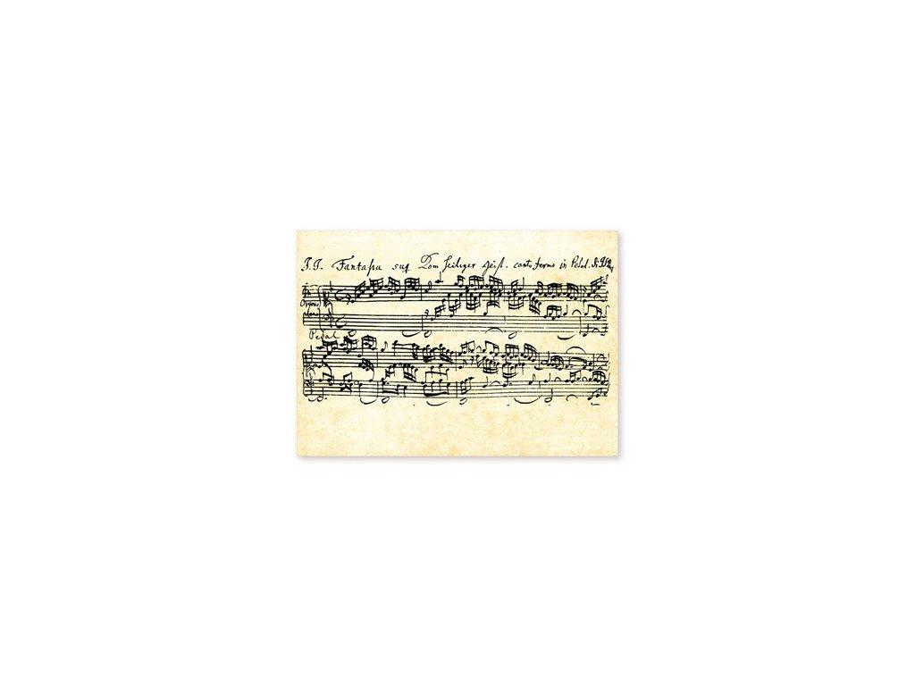 Pohlednice Bach