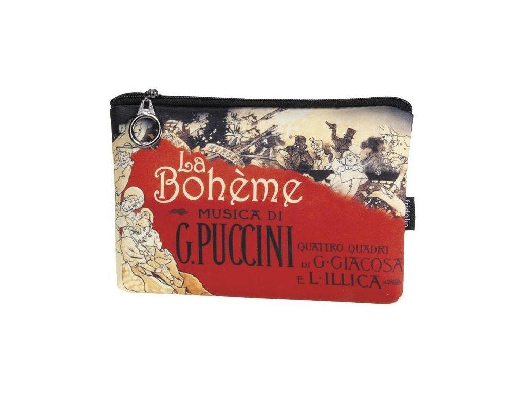 kosmetická taštička la boheme na zip