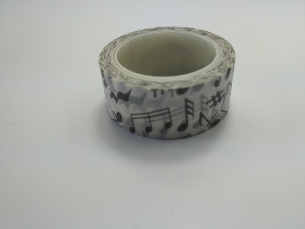 Washi páska noty