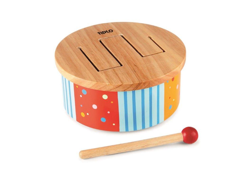 dětský dřevěný bubínek