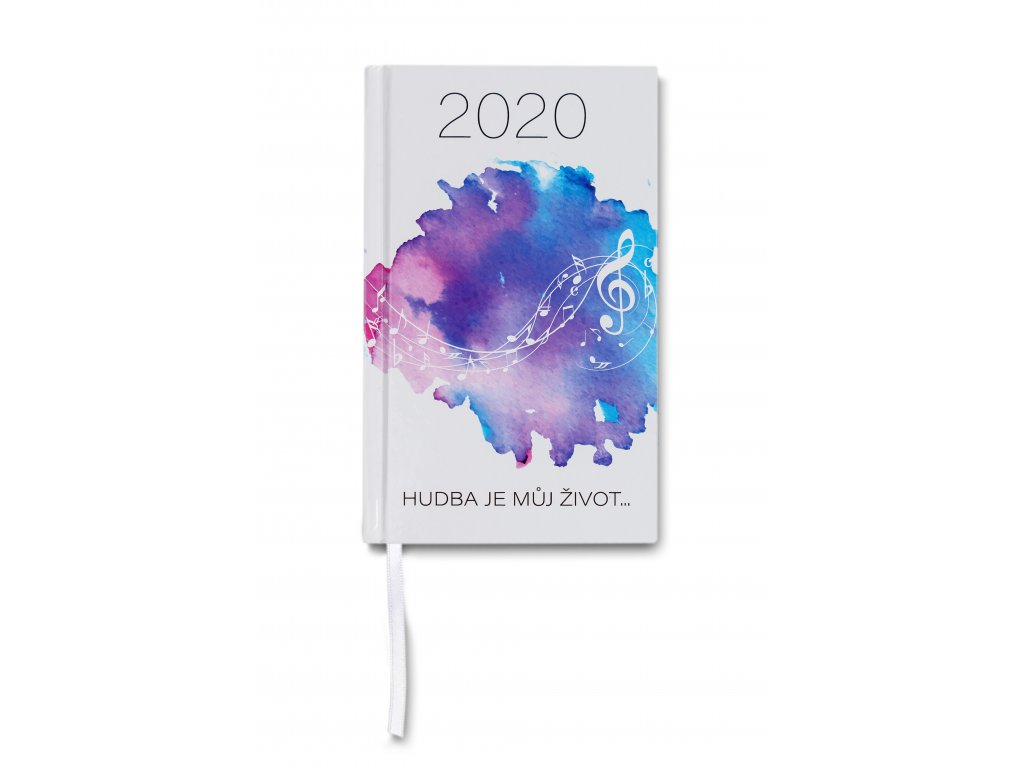 Diář 2020 Hudba je můj život (1)