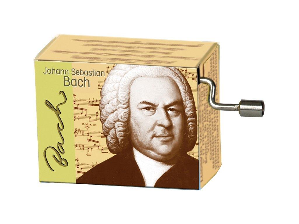 hrací skříňka J. S. Bach