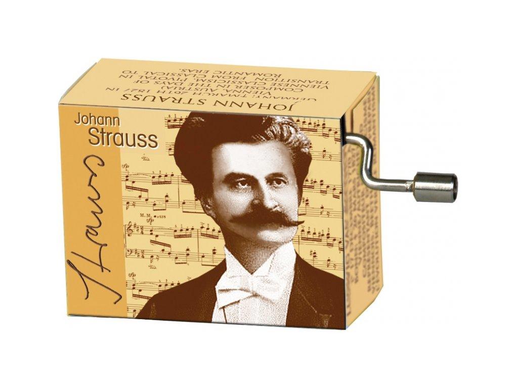 hrací skříňka J. Strauss