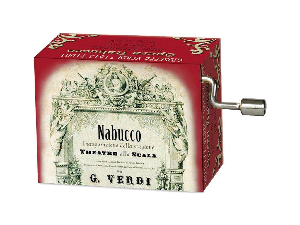 hrací skříňka Nabucco Verdi