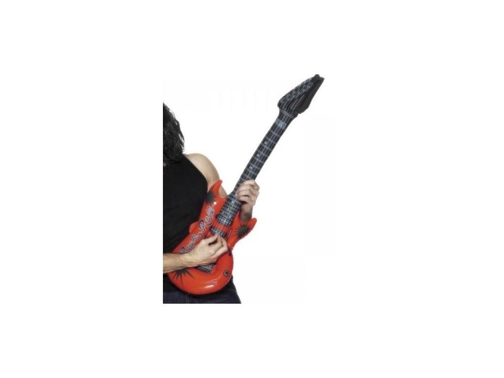 Nafukovací kytara rock and roll
