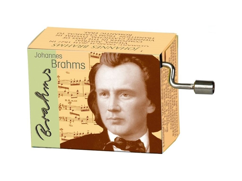 Hrací skříňka Brahms