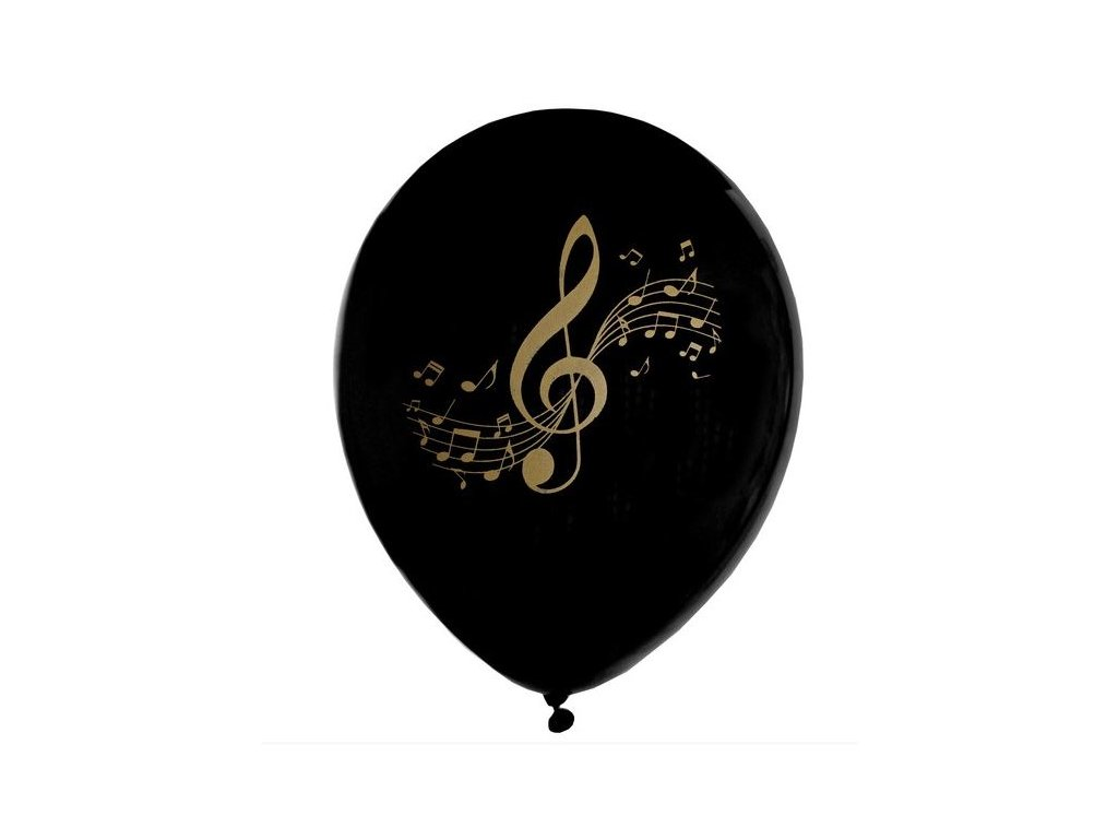 Balonek music, černý