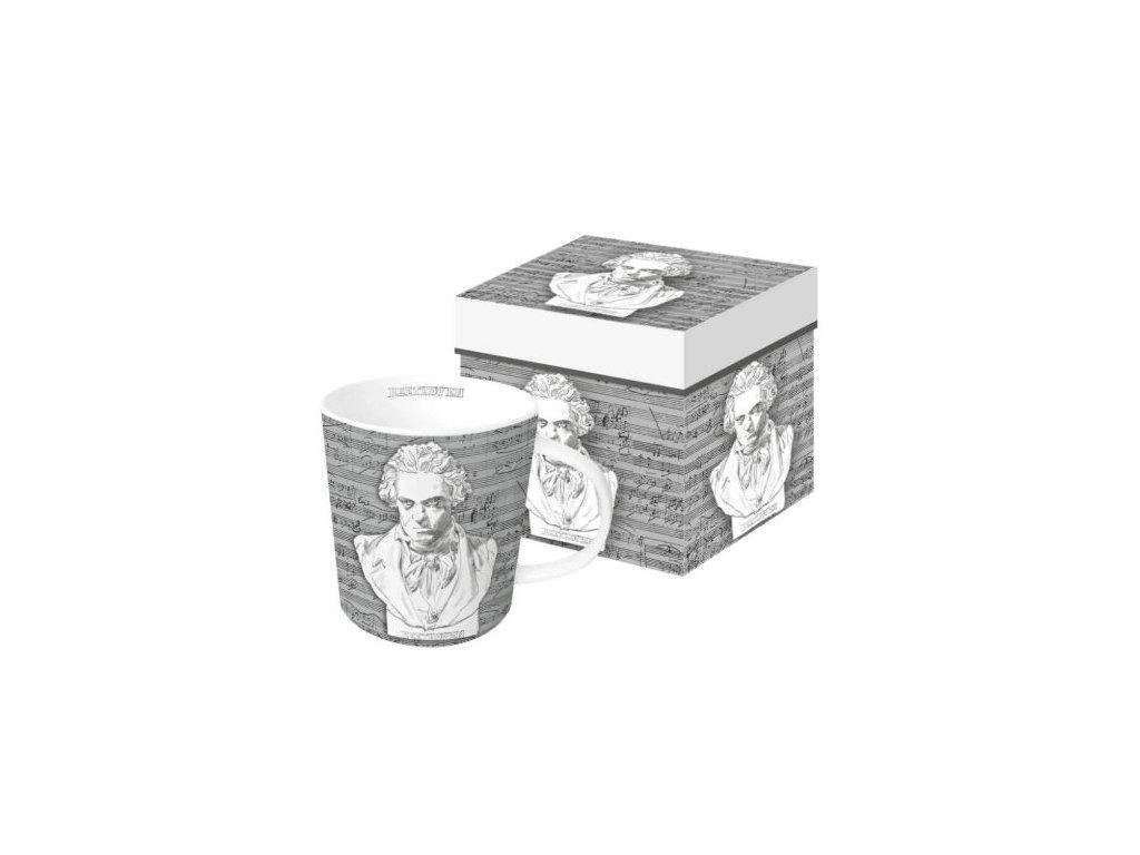 Hrnek Beethoven portrét v krabičce