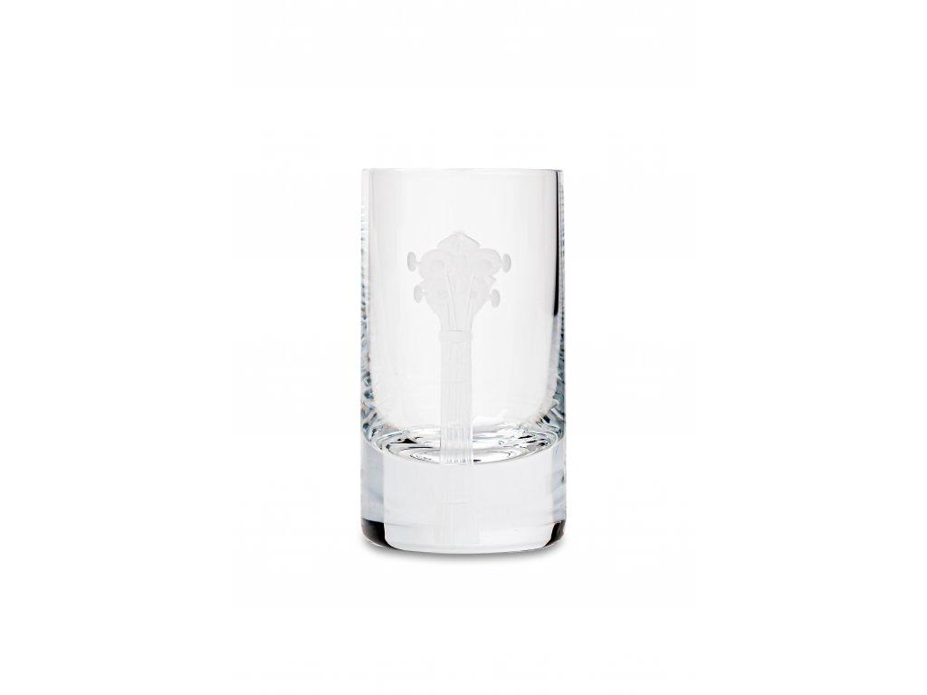 Skleněná láhev 0,5 l + 2 ks sklenic 35 ml BANJO